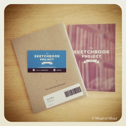The Sketchbook Project 2013 - Project Received!